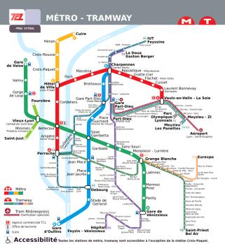 plan metro lyon